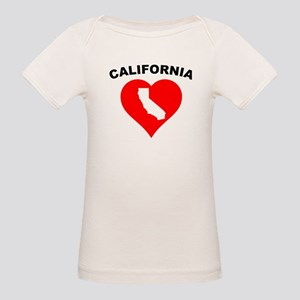 California Heart Cutout T-Shirt